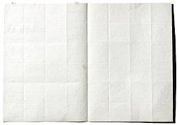 Abb.5: Sol LeWitt: Art & Project Bulletin 43, aufgeschlagene Doppelseite.